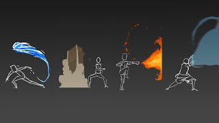 Avatar Element Animation
