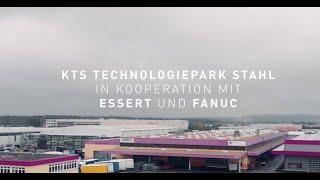FANUC Roboter im automatisierten Fräszentrum bei KTS Techologiepark Stahl im Einsatz