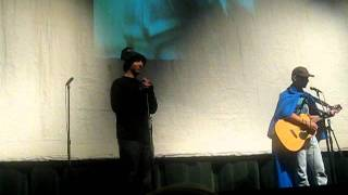 Richard Garcia, Nate Kreuger, and Dalton Pfeiffer performing D&D by...