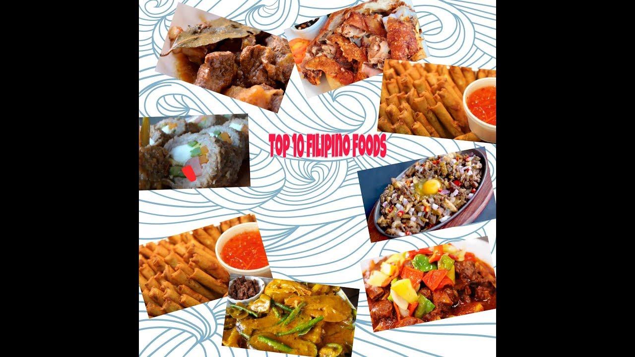 TOP 10 FILIPINO FOODS