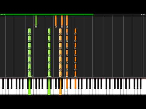 Selfless, Cold And Composed - Ben Folds Five - Synthesia Piano Tutorial