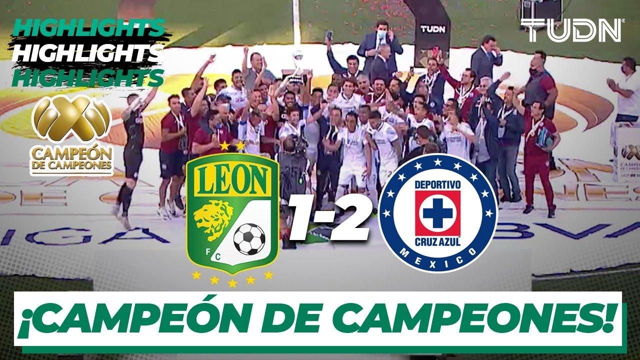 Cruz Azul se queda con el Campen de campeones.