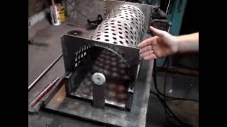 Процесс изготовления гребне отделителя для измельчителя винограда