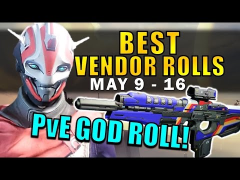 Destiny: GOD ROLL PvE SCOUT RIFLE!   BEST VENDOR ROLLS! (May 9th - 16th) Age of Triumph