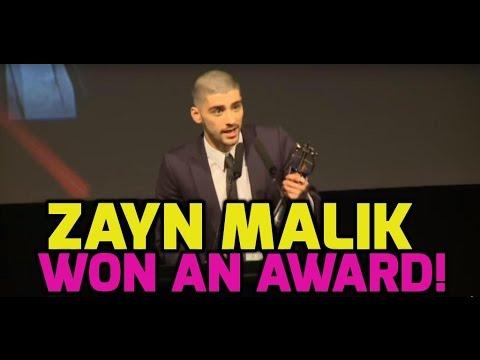 Zayn Malik thanks One Direction in acceptance speech (FULL)