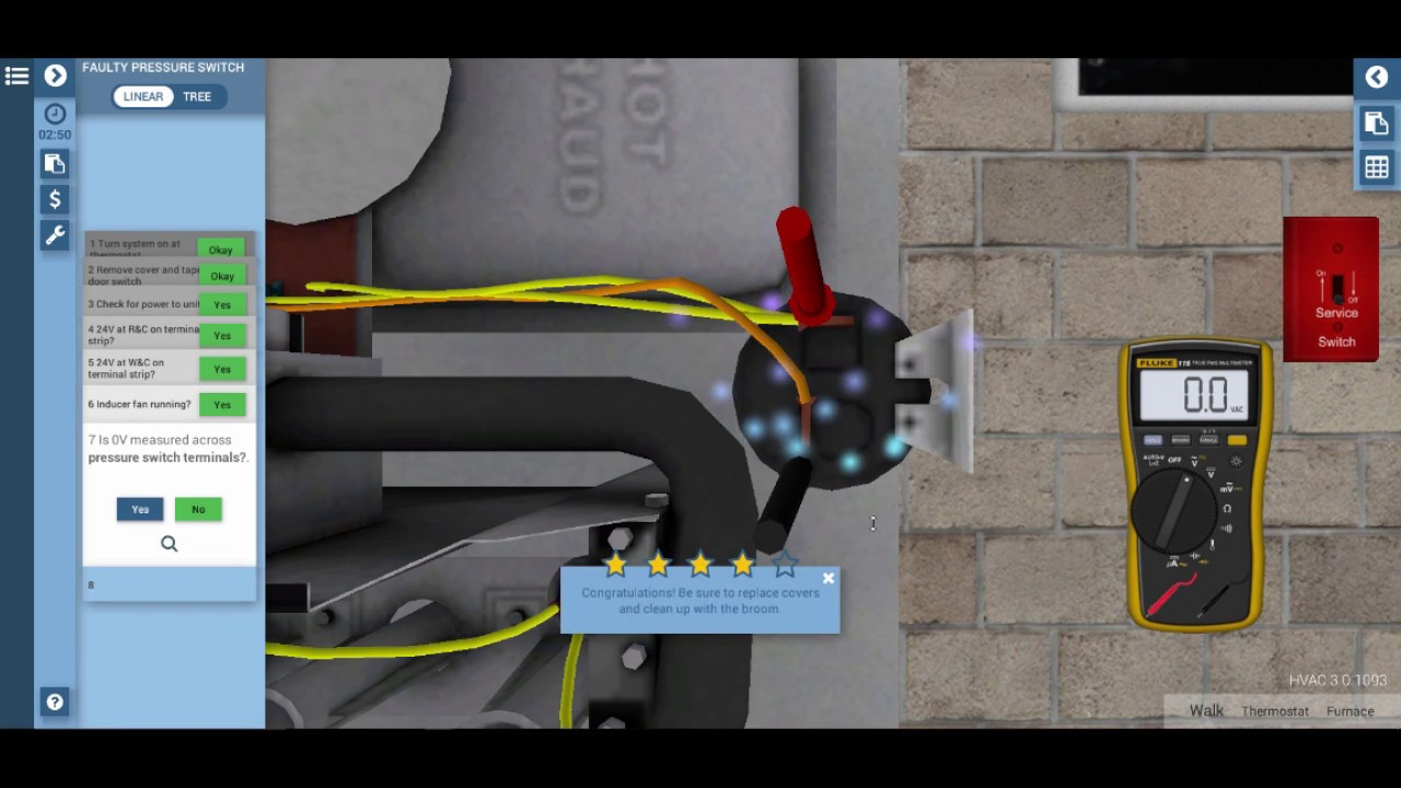 Gas Furnace Pressure Switch Troubleshooting - YouTube