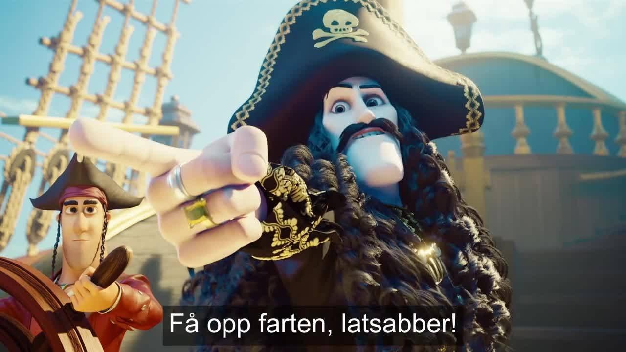 Kaptein Sabeltann og Den Magiske Diamant | TRAILER | NF| Qvisten | Dyreparken