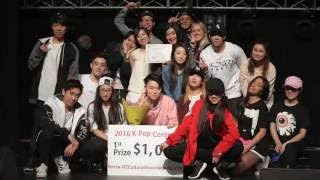 Ace Crew 1st Place Kpop Performance | NZ Kpop Contest 2016