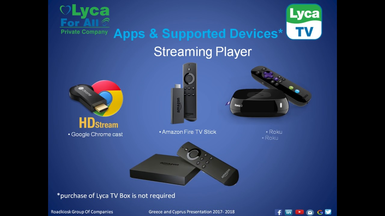 Lyca TV English Presentation
