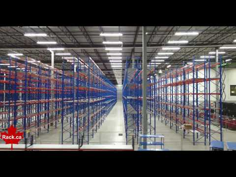 Canadian Rack Technologies Pallet Racking Project