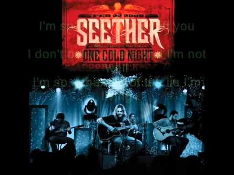 Seether-The Gift Acoustic (W/ Lyrics)