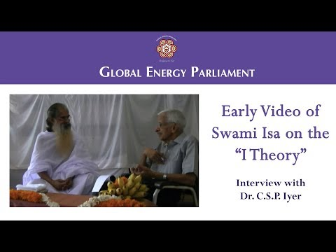 Early Video of H.H. Swami Isa on the