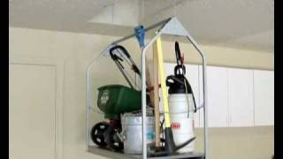 Versa Lift Puts Garage Clutter Out-of-sight!