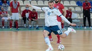 Дубль Андрея Афанасьева помог сборной России одержать победу над сборной Грузии