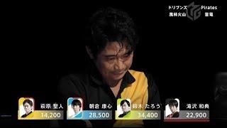 麻雀・Mリーグ 1/21 ハイライト】雷電萩原のオーラス勝負!!<ドリブン...