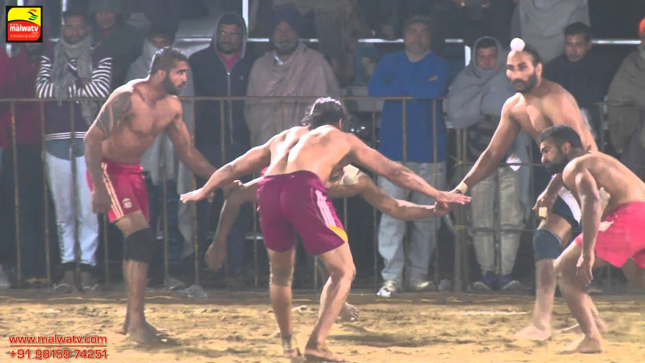 SHEIKHDAULT (Jagraon) || KABADDI TOURNAMENT - 2015 || OPEN SEMI FINALS || Full HD  || Part 2nd