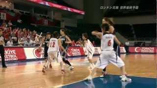 女子バスケ 日本vs韓国 韓国人のキチガイバスケMadman basketball of Korea