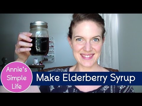 Survive Cold Season with this Elderberry Syrup Recipe