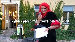 Flamboyant Taiteiden Yö 2019  Lapinlahti Helsinki