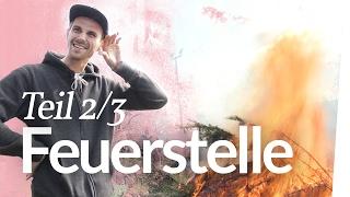 Lagerfeuerstelle bauen Teil 2 – Endlich Feuer! | Kliemannsland