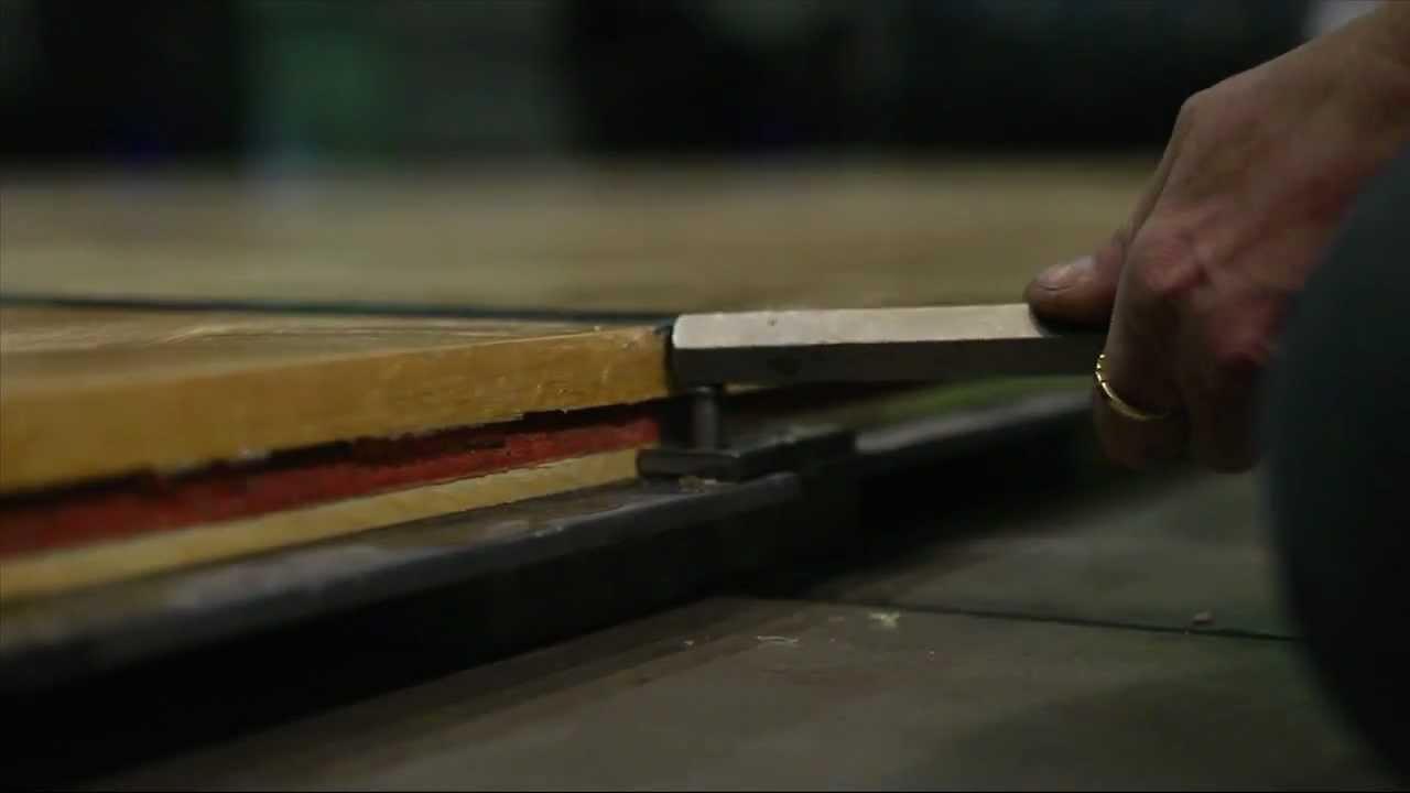Connor Sports Flooring Installation / Quicklock