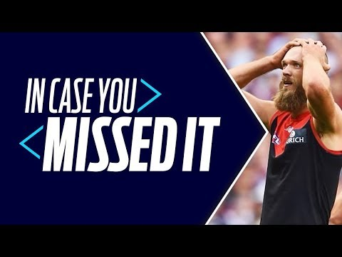 In Case You Missed It - Round 1 2018 - AFL