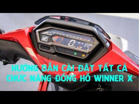 Đồng Hồ Winner X! Cài đặt Toàn Bộ Chức Năng