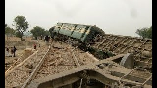 Train Accident at Mianwali