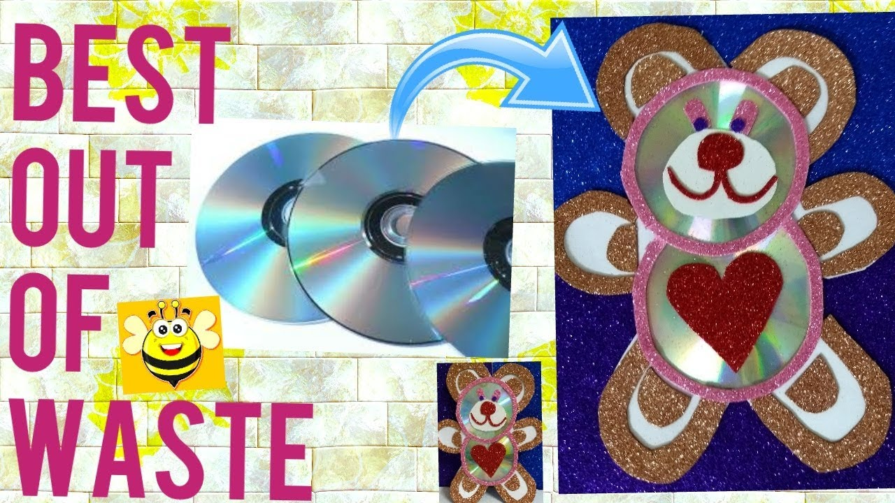 How To Make Recycled Cd Crafts