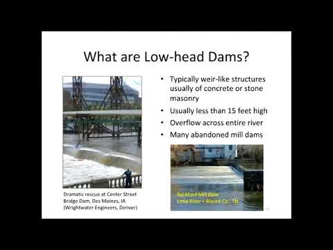 Identifying Hazards and Improving Public Safety at Low Head Dams - 2013