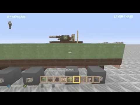 Minecraft Xbox: MOWAG Piranha IIIC Tutorial