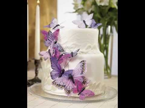 Easy Butterfly cake decorating ideas - YouTube