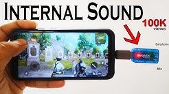 PUBG Internal Sound recording with USB sound card|No Root|No PC💥