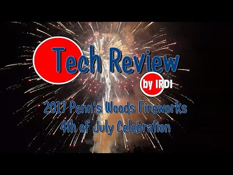 2017 Penns Woods 4th of July Fireworks in 4K