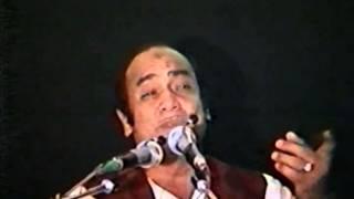 Mehdi Hassan Live...Ranjish Hi Sahi (Video)