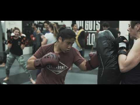 Kickboxing and Jiu Jitsu Group Class in Santa Barbara