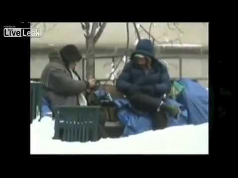North Korea Televising  Americas Poor!!