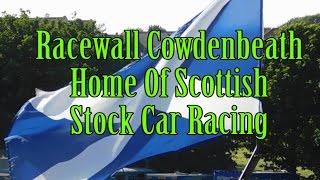 Racewall Cowdenbeath Stockcars Scotland highlights June 18th 2016