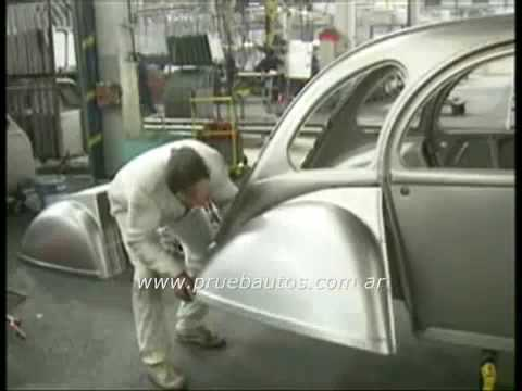 Comment on fabriquait une 2cv en 1990