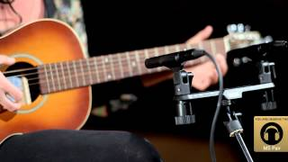M5 Matched Pair in Spaced Pair Configuration: Recording Acoustic Guitar