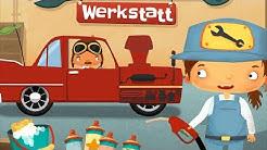 Tolles Autowerkstatt Kinderspiel 🌞 Meine kleine Welt Werstatt - deutsch