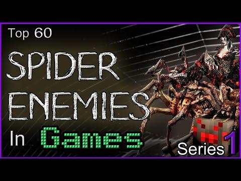 Top 60 Spider Enemies In Games [SERIES 1]