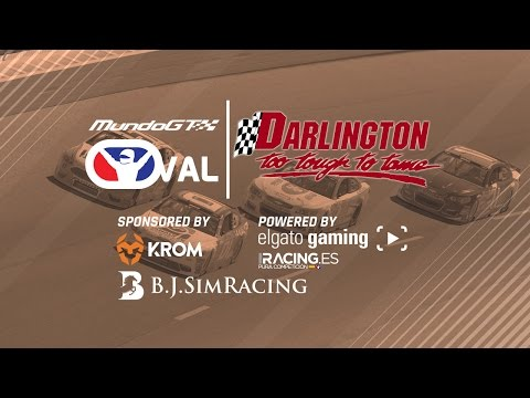 iRacing #MGTOval - Darlington Raceway - Carrera 5/6