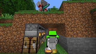 Dream VS Technoblade MANHUNT (Minecraft Speedrunner VS Hunter)