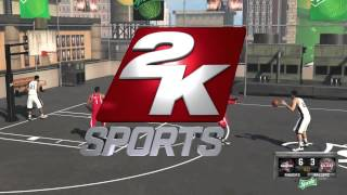 NBA 2K15 San Antonio Spurs Vs Houston Rockets 2v2 Blacktop PC Gameplay
