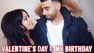 VALENTINE'S DAY & MY BIRTHDAY 2019 | Maliha Vlogs