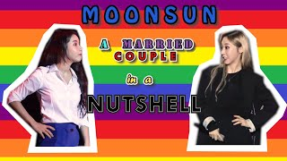 Moonsun : A Married Couple In A Nutshell I Moonbyul & Solar