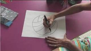 Drawing Lessons : How to Draw Volleyballs