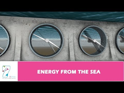ENERGY FROM THE SEA