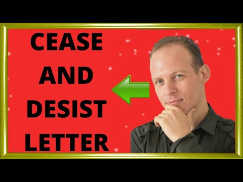 What is a cease and desist letter & what to do if you get a cease and desist letter